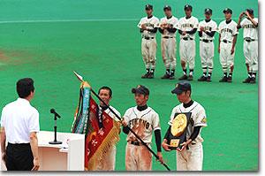 甲子園初出場おめでとう!南砺総合福野高校ナイン
