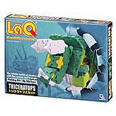 知育ブロック LaQ(ラキュー) トリケラトプスセット