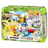 知育ブロック LaQ(ラキュー) イマジナルシリーズ 動物園セット