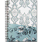 白いお花のA5サイズ リングノート ~ デザイナーズギルド