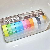 マスキングテープ コルテ うすいパレット12色セット